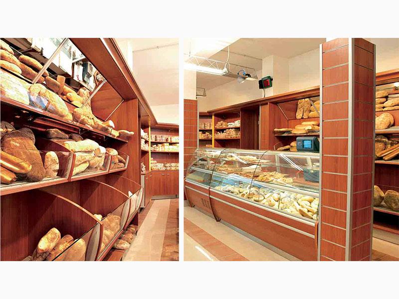 Brio pane e salame al ticino for Arredamento panetteria