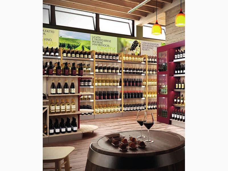 Oecoplan regale vino mondovino acquistare da edile hobby