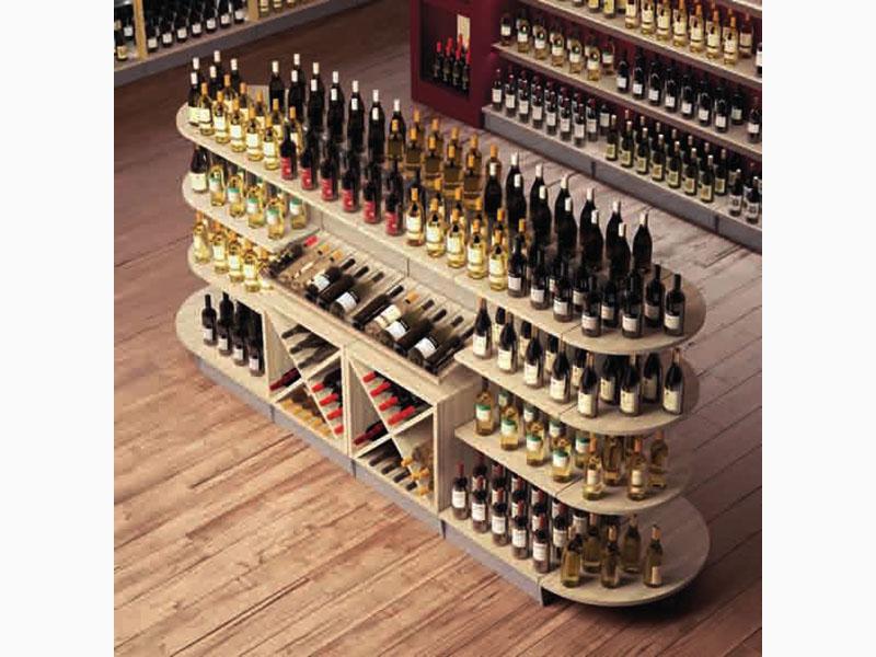 Arredo negozio enoteca serie brio vino al ticino