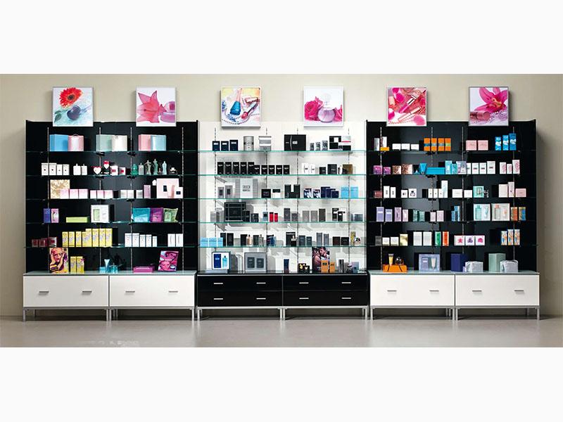metro profumeria arredamenti per negozi di cosmetica al