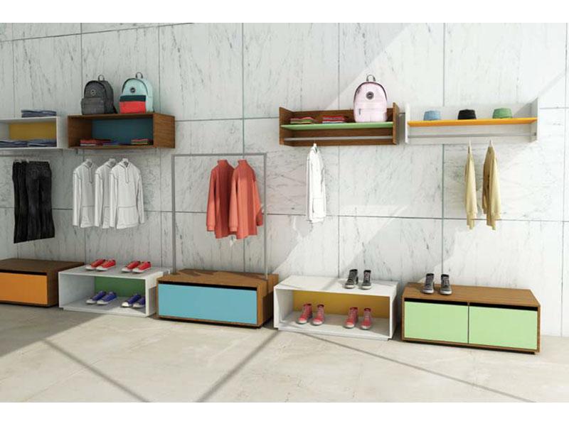 Abbigliamento arredi e consigli progettuali per negozi abiti