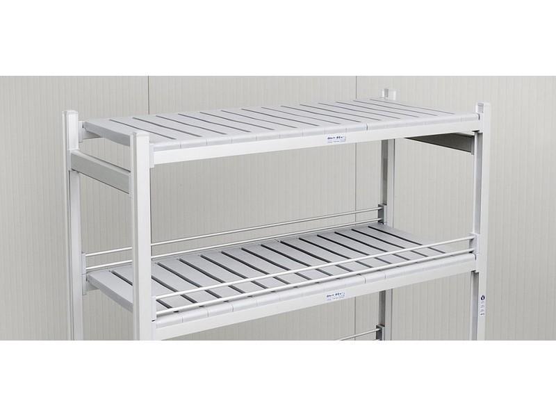 Scaffali in alluminio per celle frigorifere e dispense alimentari