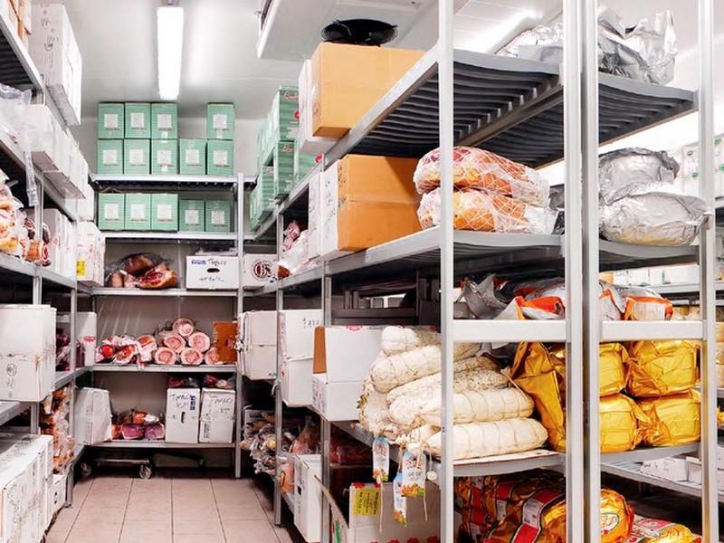 Scaffali in alluminio per celle frigorifere e dispense for Scaffali per dispensa