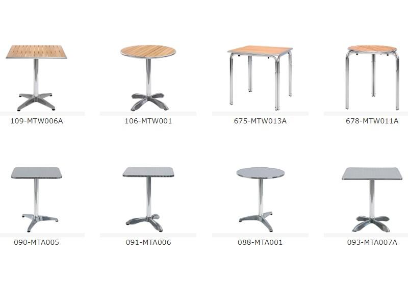 Tavoli per uso esterno negozi e dehor for Tavoli da terrazzo