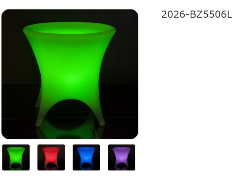 Tavoli In Plastica Per Bar.Arredi Luminosi Per Esterno