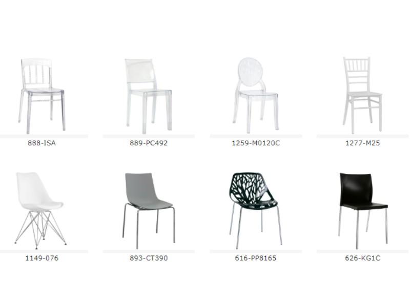 Sedie In Metallo E Plastica : Sedie in metallo e plastica al ticino