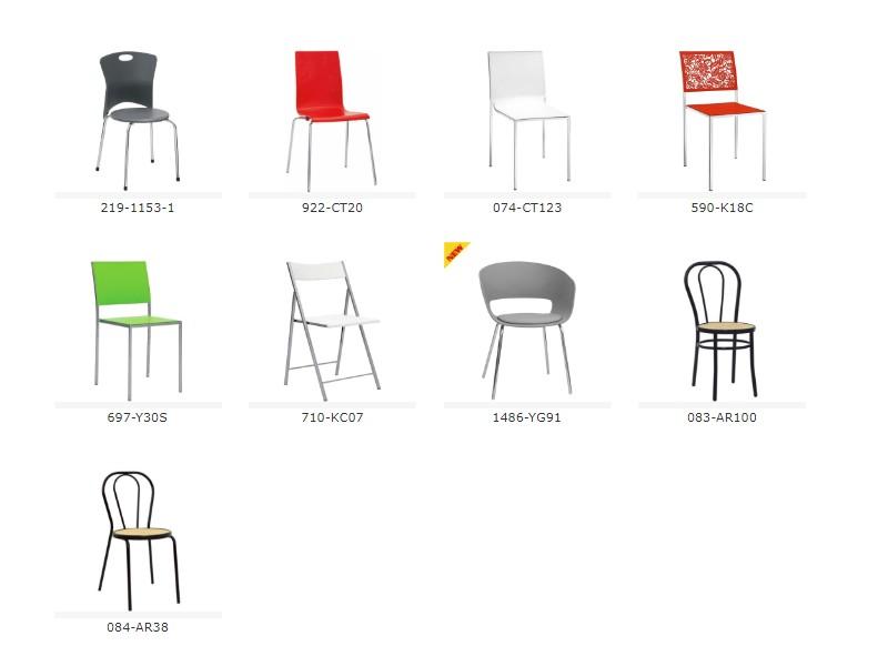 Sedie In Metallo E Plastica.Sedie In Metallo E Plastica Al Ticino