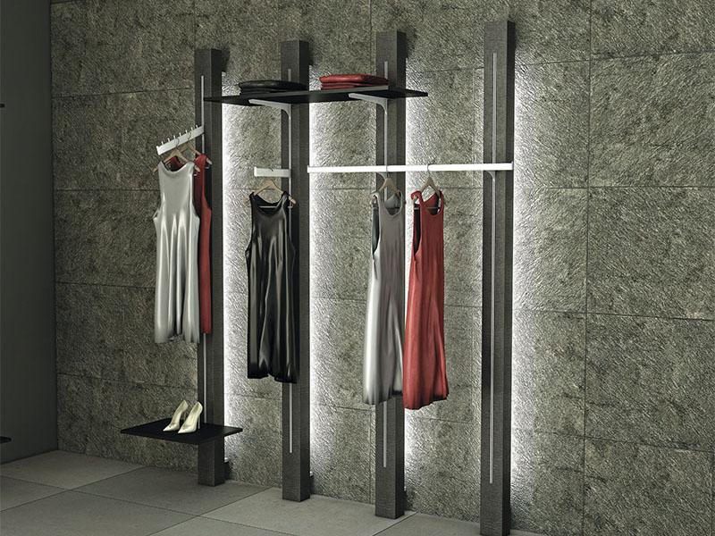 Arredamenti temporary store per negozi a tempo di for Arredi per negozi abbigliamento